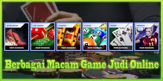 Beberapa Jenis Permainan Judi Online Paling Populer